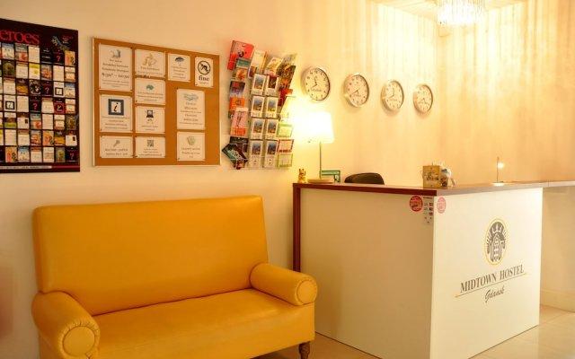 Midtown Hostel Гданьск интерьер отеля