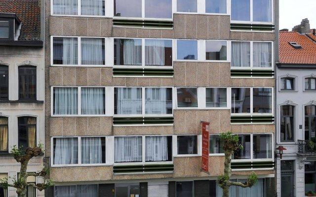 Отель Budget Flats Antwerpen вид на фасад