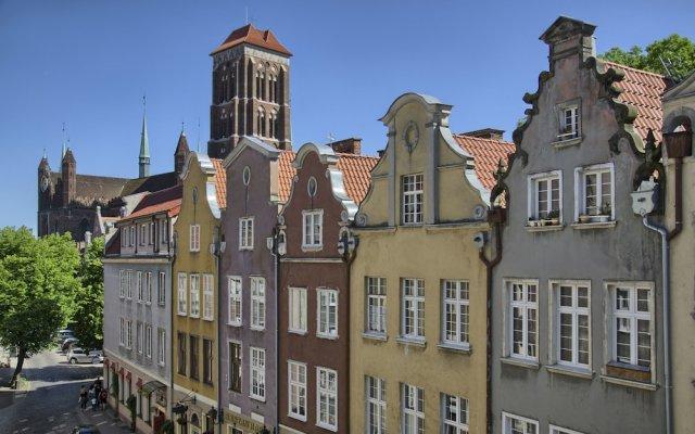 Апартаменты Gdansk Deluxe Apartments вид на фасад