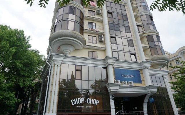 Гостиница Централ Хостел Сочи в Сочи 10 отзывов об отеле, цены и фото номеров - забронировать гостиницу Централ Хостел Сочи онлайн вид на фасад