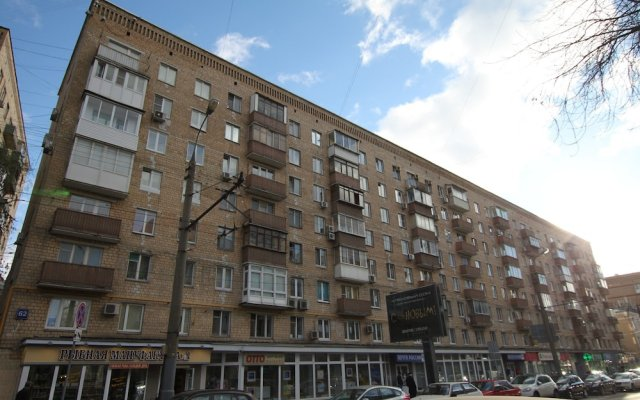Апартаменты TVST Apartments Bolshaya Gruzinskaya 62 вид на фасад