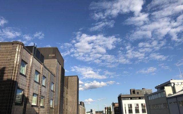 Апартаменты City Apartment Ювяскюля вид на фасад