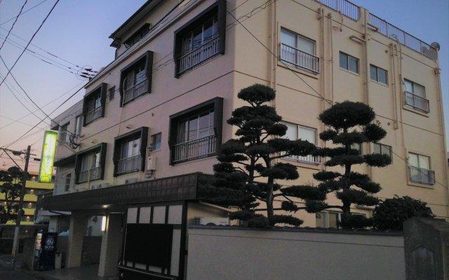 Spa Hostel Khaosan Beppu Беппу вид на фасад