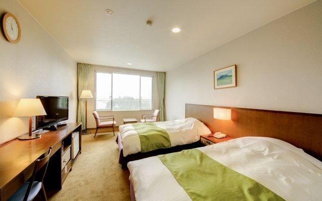 Отель Kyukamura Fuji Яманакако комната для гостей