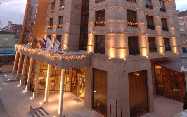Отель Arena di Serdica Hotel Болгария, София - 1 отзыв об отеле, цены и фото номеров - забронировать отель Arena di Serdica Hotel онлайн вид на фасад