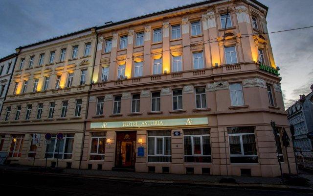 Hotel Astoria Leipzig Лейпциг вид на фасад