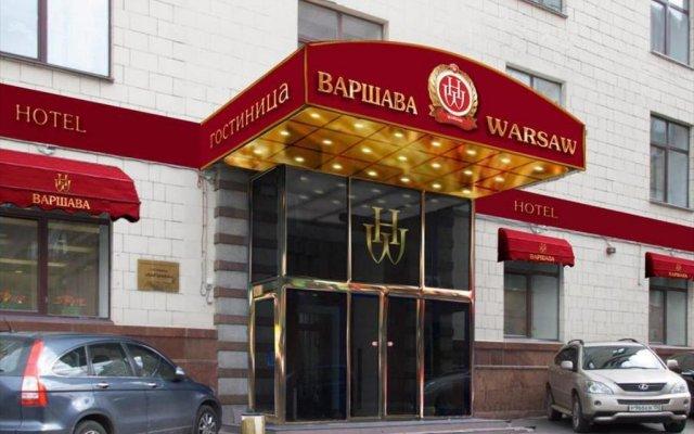 Гостиница Варшава вид на фасад