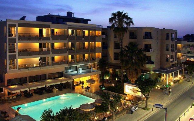 Отель Saint Constantin Hotel Греция, Кос - 1 отзыв об отеле, цены и фото номеров - забронировать отель Saint Constantin Hotel онлайн вид на фасад
