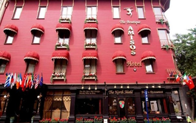 Amisos Hotel Турция, Стамбул - 1 отзыв об отеле, цены и фото номеров - забронировать отель Amisos Hotel онлайн вид на фасад