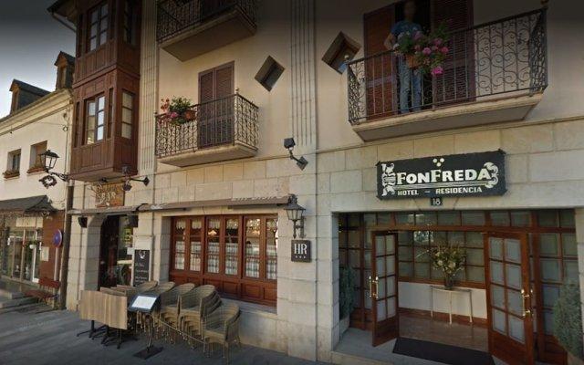 Fonfreda Hotel вид на фасад