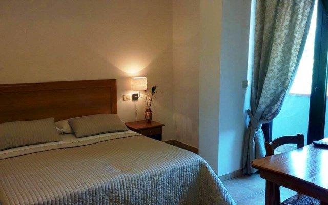 Отель Albergo Villa Riccio Итри комната для гостей