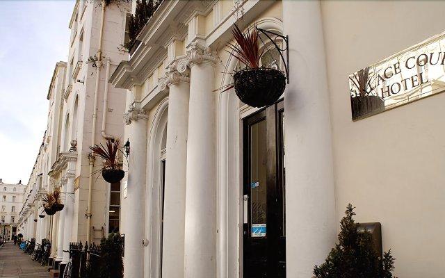 Отель Palace Court Hotel Великобритания, Лондон - 1 отзыв об отеле, цены и фото номеров - забронировать отель Palace Court Hotel онлайн вид на фасад