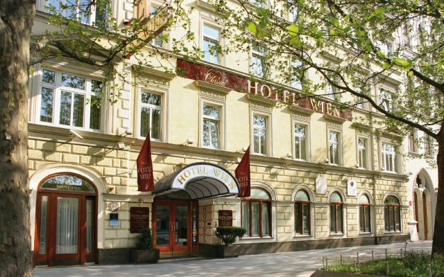 Austria Classic Hotel Wien вид на фасад