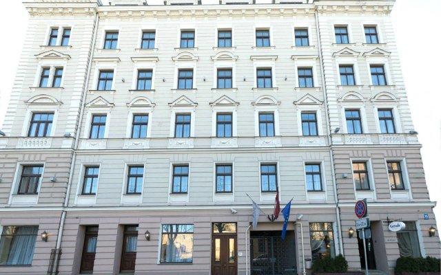 Отель Rixwell Gertrude Рига вид на фасад
