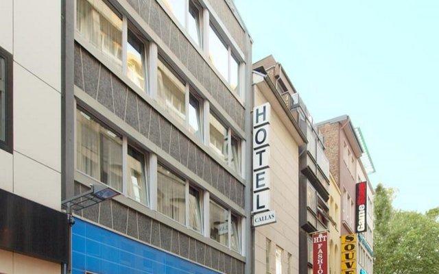 Отель Callas Am Dom Hotel Германия, Кёльн - 11 отзывов об отеле, цены и фото номеров - забронировать отель Callas Am Dom Hotel онлайн вид на фасад