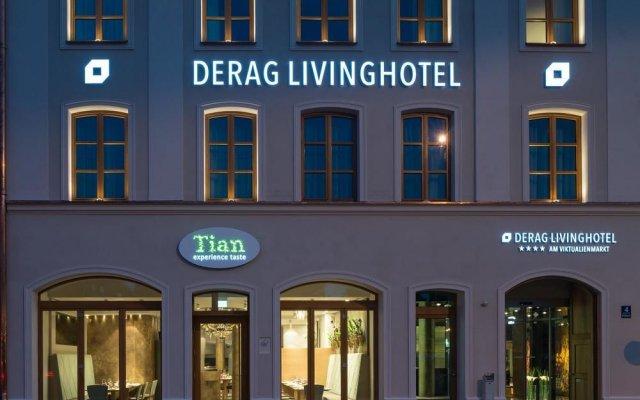 Отель Living Hotel Das Viktualienmarkt by Derag Германия, Мюнхен - отзывы, цены и фото номеров - забронировать отель Living Hotel Das Viktualienmarkt by Derag онлайн вид на фасад