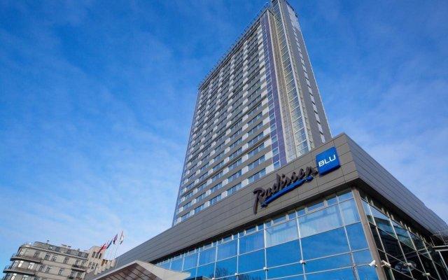 Radisson Blu Hotel Latvija Рига вид на фасад