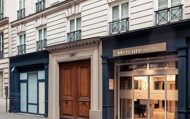 Отель Mercure Paris Opera Grands Boulevards вид на фасад