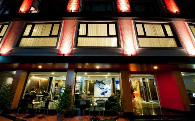Отель 41 Suite Бангкок вид на фасад