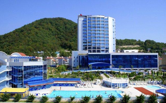 Гостиница Гамма в Ольгинке 1 отзыв об отеле, цены и фото номеров - забронировать гостиницу Гамма онлайн Ольгинка вид на фасад