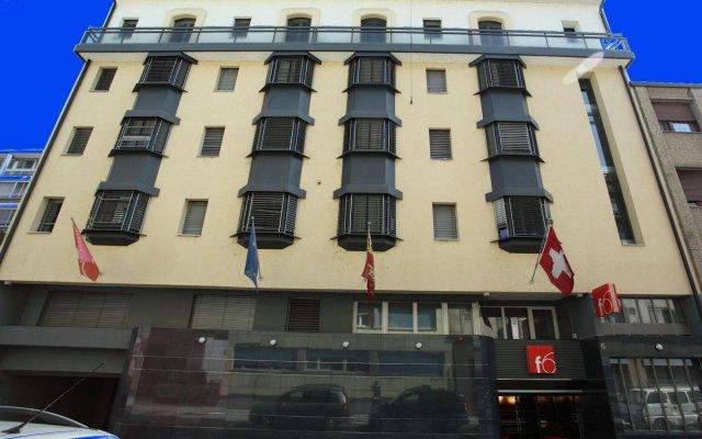 Отель Design Hotel F6 Швейцария, Женева - отзывы, цены и фото номеров - забронировать отель Design Hotel F6 онлайн вид на фасад