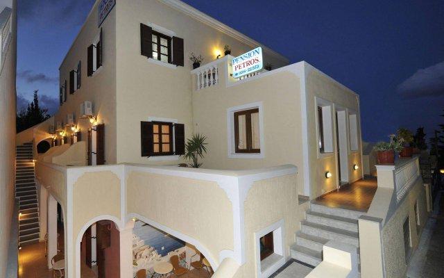Отель Pension Petros Греция, Остров Санторини - отзывы, цены и фото номеров - забронировать отель Pension Petros онлайн вид на фасад