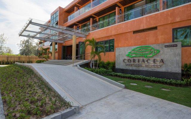 Отель Coriacea Boutique Resort вид на фасад