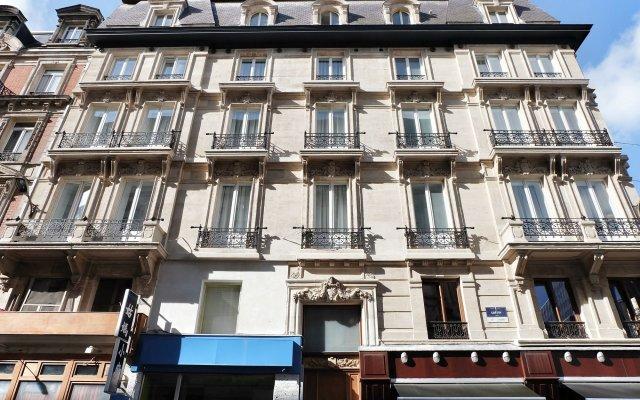 Отель Top Spot Residence Бельгия, Брюссель - отзывы, цены и фото номеров - забронировать отель Top Spot Residence онлайн вид на фасад