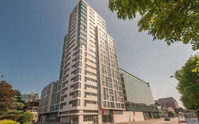 Отель Glasgow City Flats вид на фасад