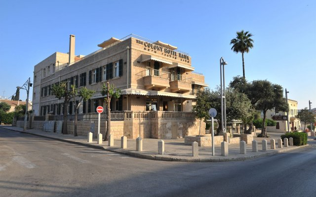 Отель Colony Хайфа вид на фасад