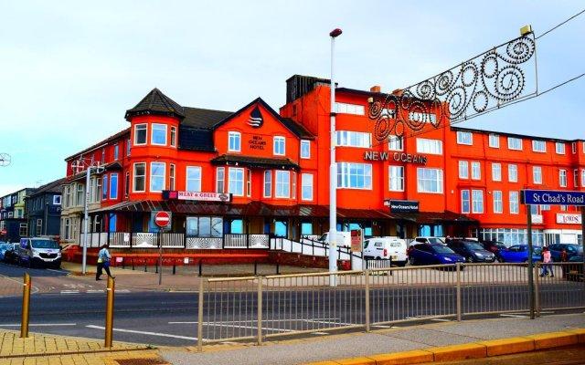 New Oceans Hotel вид на фасад