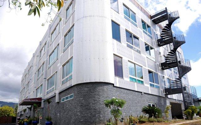 Отель Sarah Nui Папеэте вид на фасад