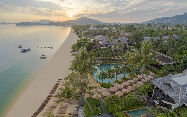 Отель Anantara Bophut Koh Samui Resort Таиланд, Самуи - отзывы, цены и фото номеров - забронировать отель Anantara Bophut Koh Samui Resort онлайн пляж