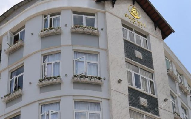 Mountain Town Hotel Далат вид на фасад
