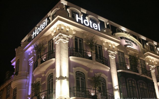 Отель Internacional Design Hotel - Small Luxury Hotels of the World Португалия, Лиссабон - 1 отзыв об отеле, цены и фото номеров - забронировать отель Internacional Design Hotel - Small Luxury Hotels of the World онлайн вид на фасад