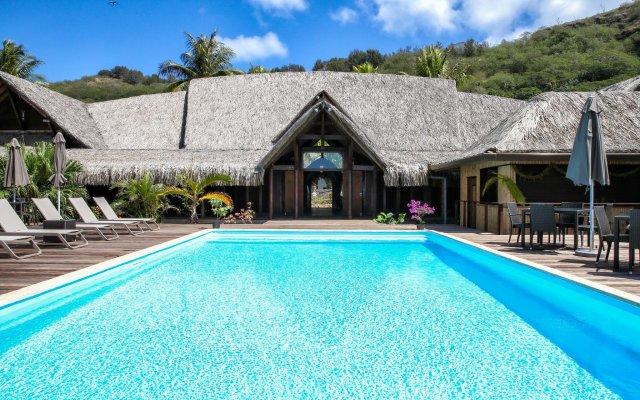 Отель Royal Bora Bora Французская Полинезия, Бора-Бора - отзывы, цены и фото номеров - забронировать отель Royal Bora Bora онлайн вид на фасад