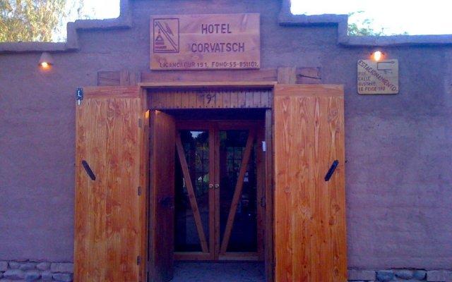Hotel Corvatsch вид на фасад