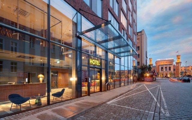 Best Western Premier Hotel City Center Вроцлав вид на фасад