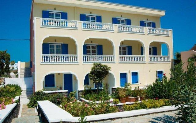 Avra Hotel вид на фасад