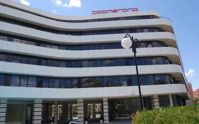 Апартаменты Boomerang Apartments вид на фасад
