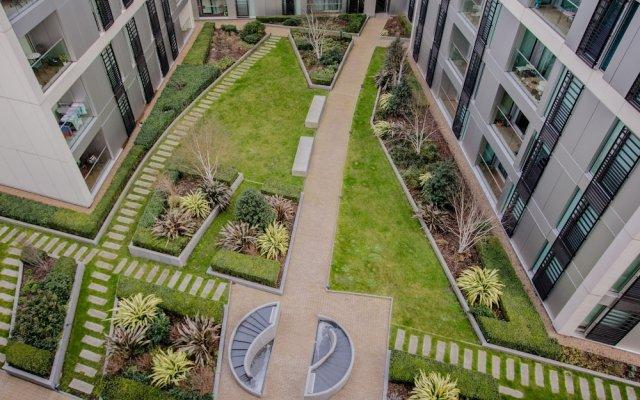 Отель 1 Bedroom Flat in Wandsworth Великобритания, Лондон - отзывы, цены и фото номеров - забронировать отель 1 Bedroom Flat in Wandsworth онлайн вид на фасад