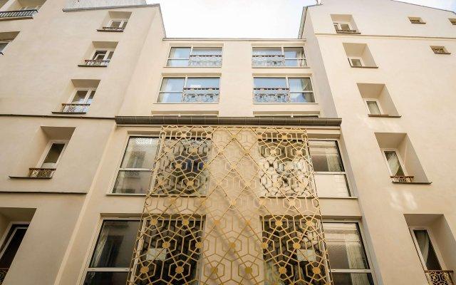 Archetype Etoile Hotel Париж вид на фасад