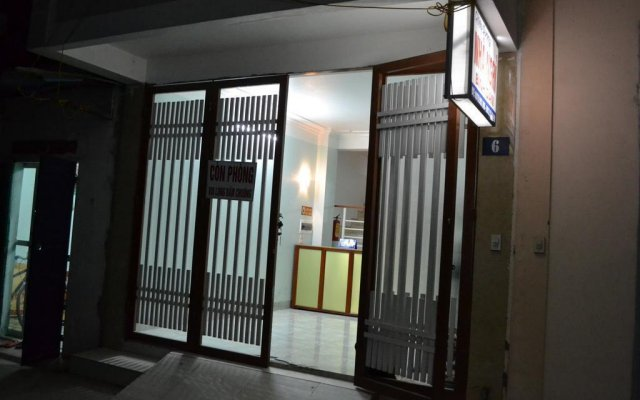 Отель Chieu Duong Guest House вид на фасад