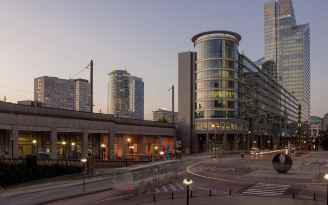 Hotel City Center вид на фасад