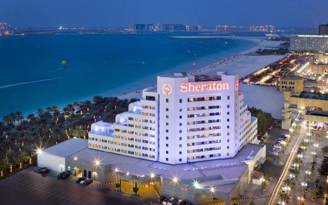 Отель Sheraton Jumeirah Beach Resort вид на фасад