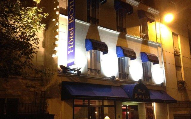 Hotel Boileau вид на фасад