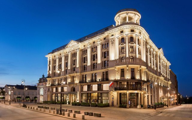 Hotel Bristol, A Luxury Collection Hotel, Warsaw вид на фасад