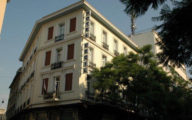 Отель Cecil вид на фасад