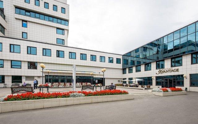 Гостиница Байкал Бизнес Центр вид на фасад