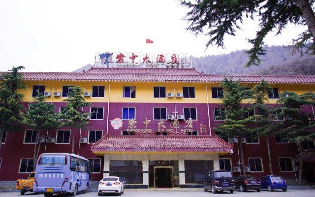 Jiuzhaigou Tang Zhong Hotel вид на фасад